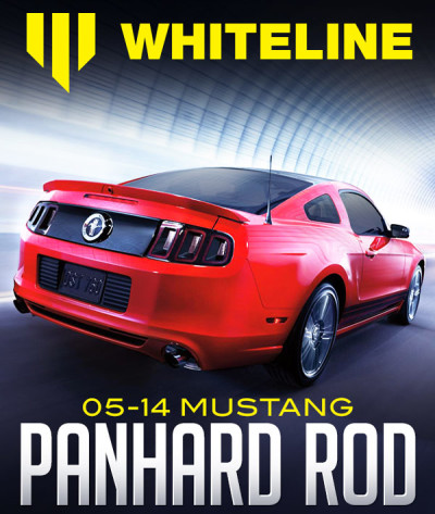 WHITELINE REAR ADJUSTABLE PANHARD ROD: 2005-2014 FORD MUSTANG