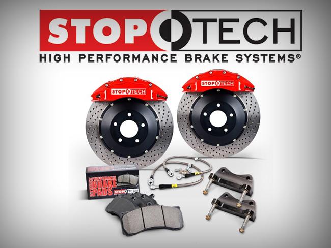 StopTech Big Brake Kit for '15+ Subaru WRX