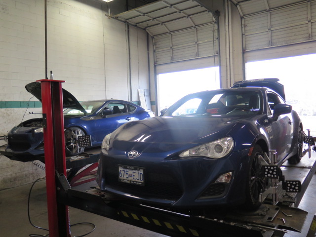 Scion FRS alignment day at Dales
